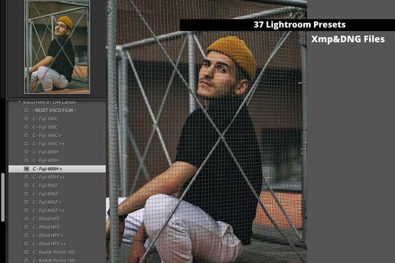 37 Film Lightroom Presets XMP DNG 4466870 Download