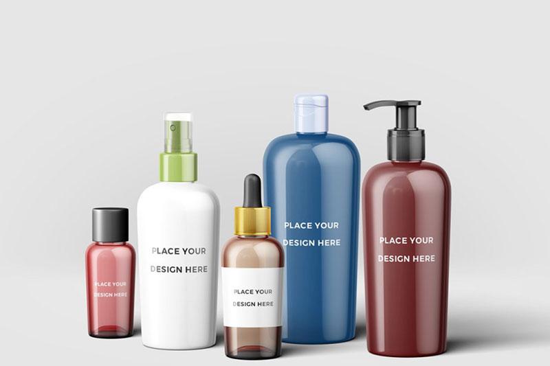 Cosmetic Bottles Mockup 2068617 2