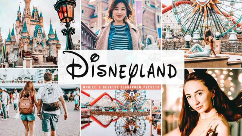 Disneyland Mobile 2526 Desktop Lightroom Presets Free Download