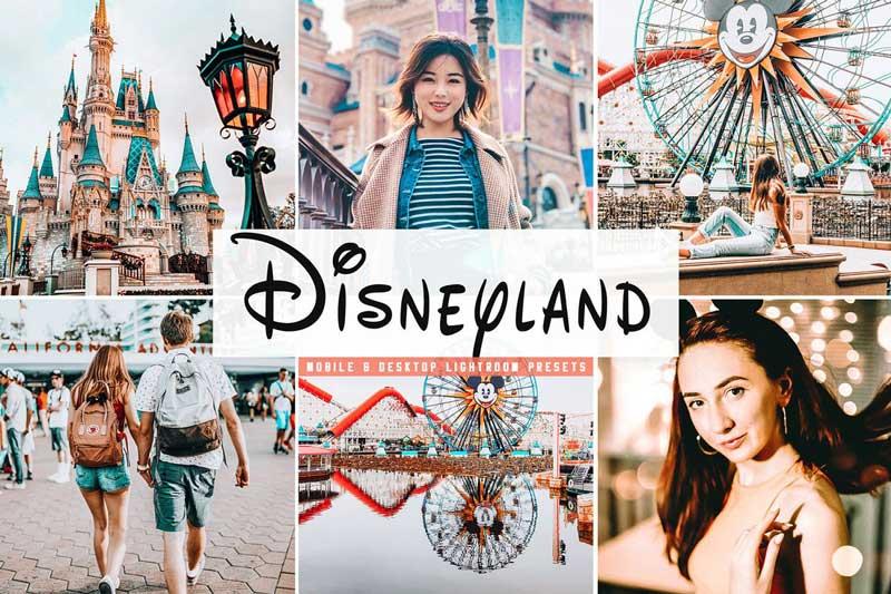Disneyland Mobile 2526 Desktop Lightroom Presets Free Download