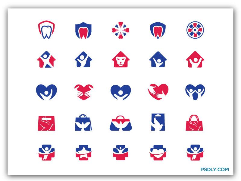 Doctor Logo Icon Set