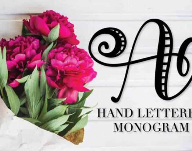 Monogram Striped Font Free Download