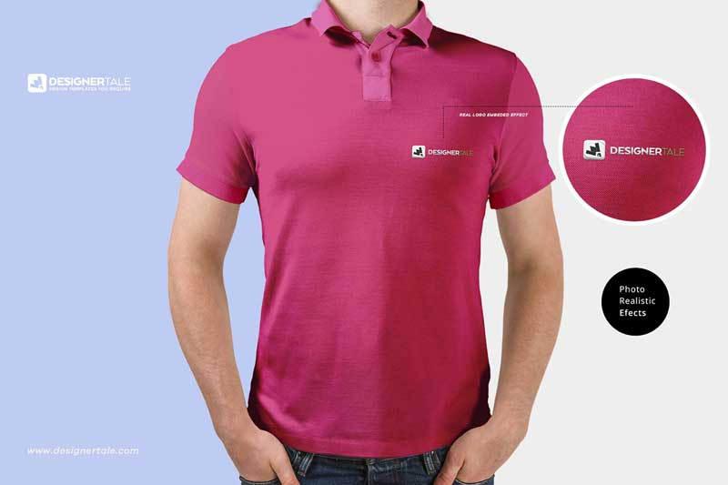 Polo T Shirt Mockup 1