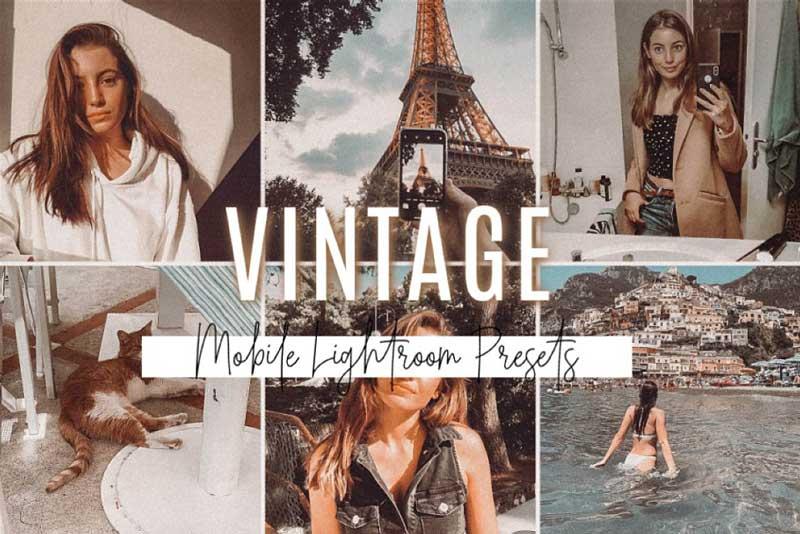 Vintage Mobile Lightroom Presets 4580806 Download