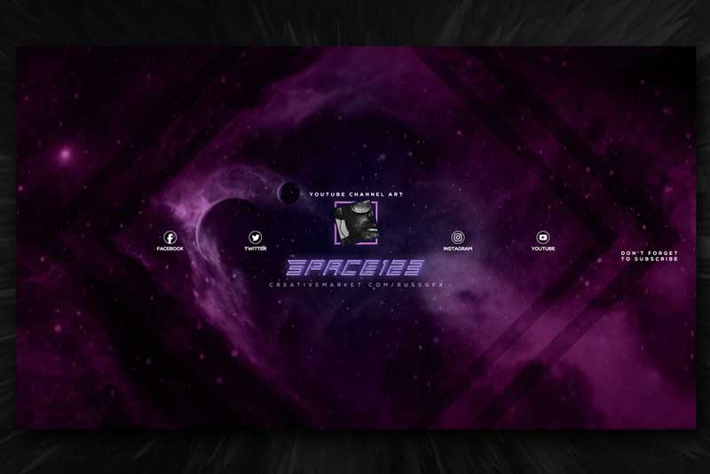 10 Youtube Channel Art Banners vol.5 2044354 Download