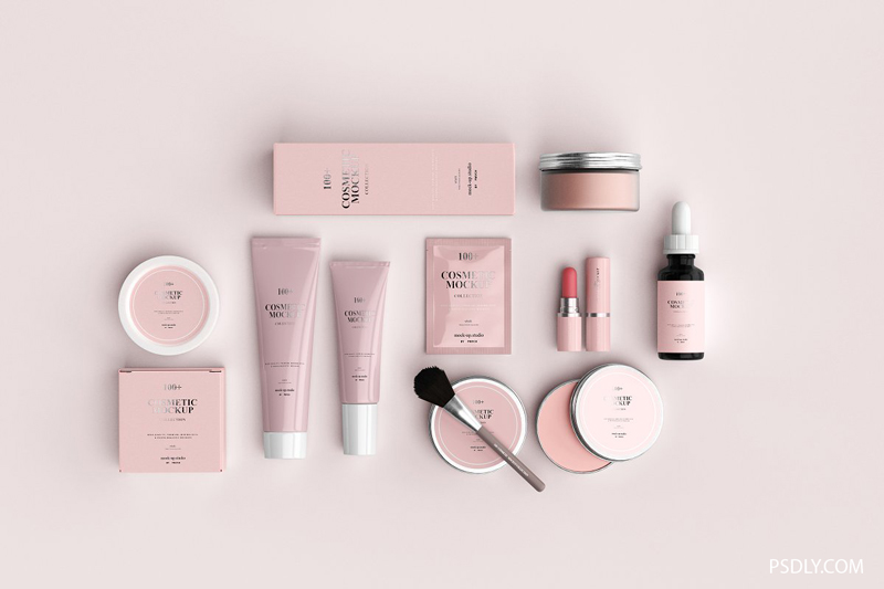 100252B Cosmetic Mockup Collection 3