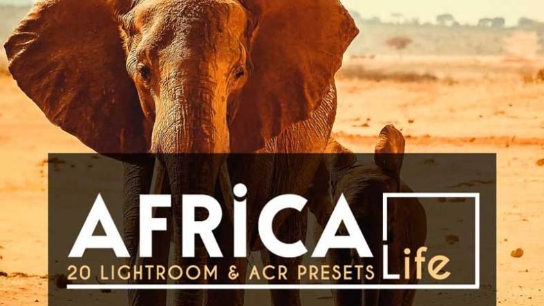 20 Africa Life Lightroom 2526ACR Preset 4118145