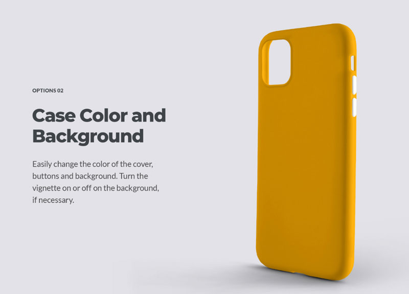8 Mockups Case for iPhone 11