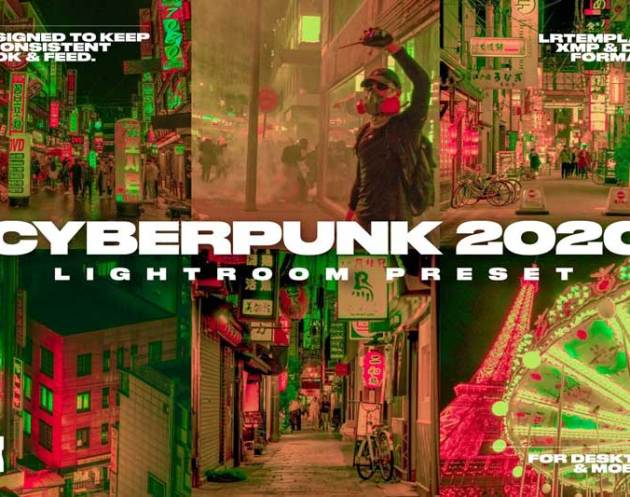 CYBERPUNK 2020 FILM LIGHTROOM PRESET 4559642