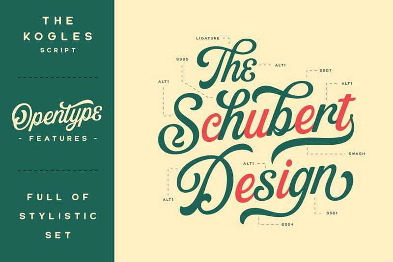 Creativemarket The Kogles Script Typeface 4632758