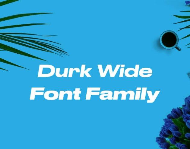 Druk Font Family Free Download
