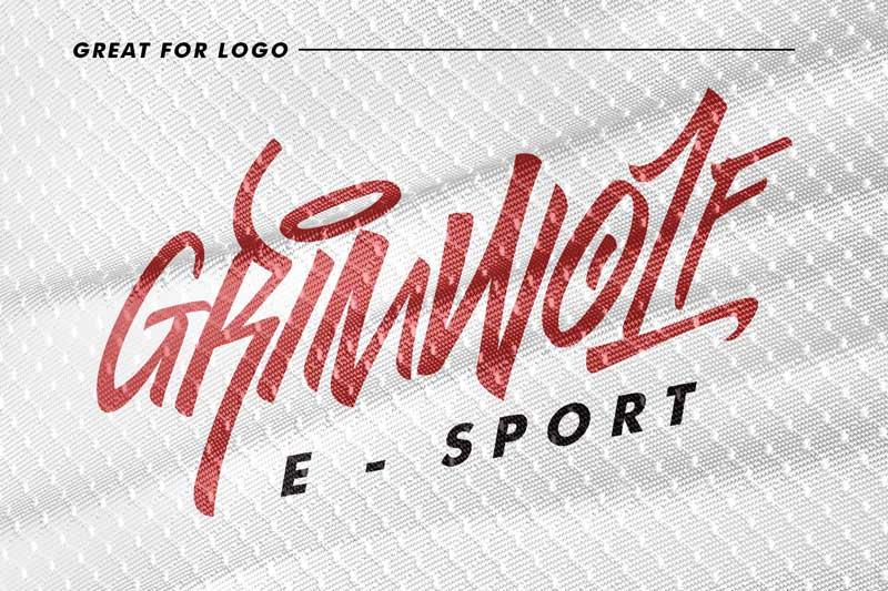 Godzillab Handmade Graffity Font Free Download