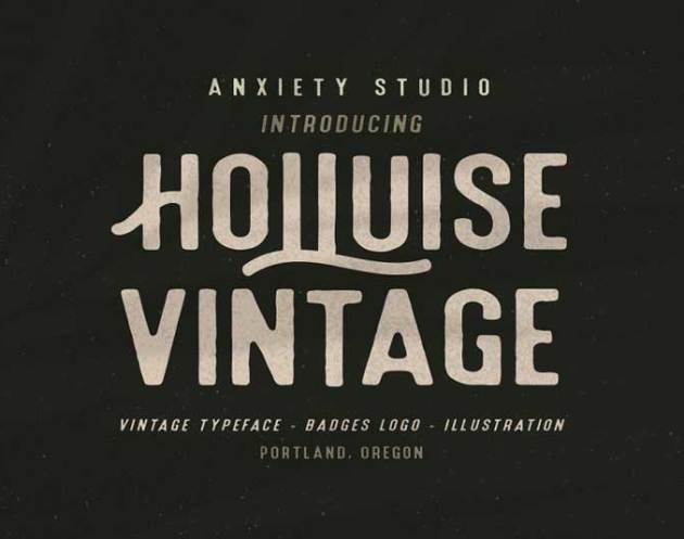 Holluise Vintage 2528Extra Badges Logo2529