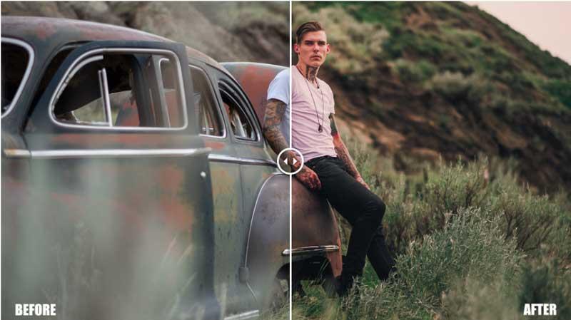 Nathan Elson Cinematic Lightroom Preset Pack Free Download