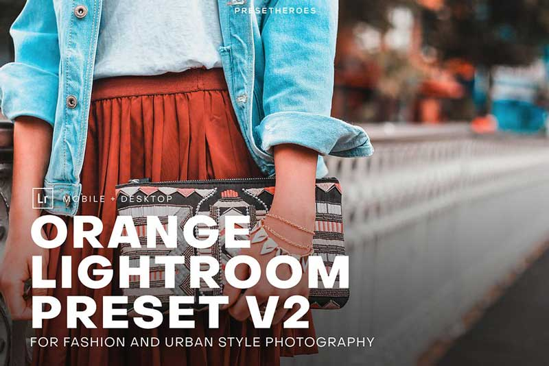 PH Orange Lightroom Presets V2 Download