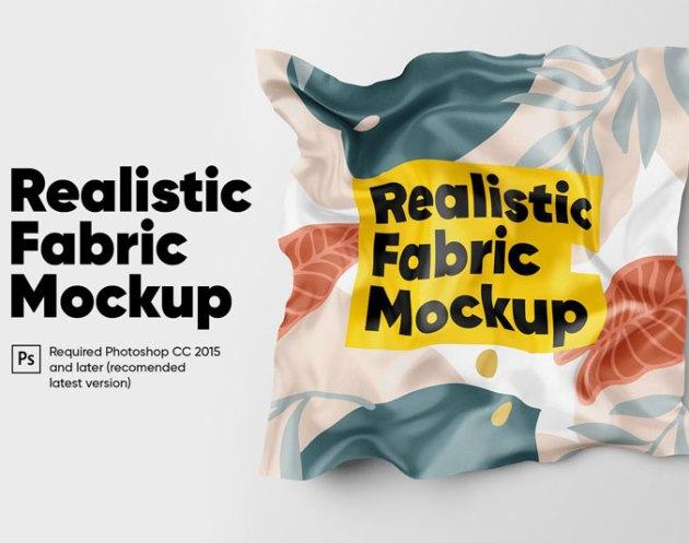 Realistic Fabric Mockup 2020