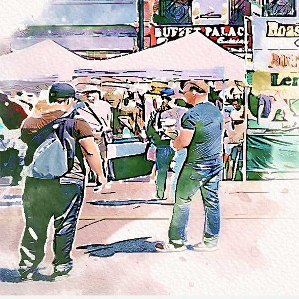Urban Sketcher Photoshop Actions 25806000