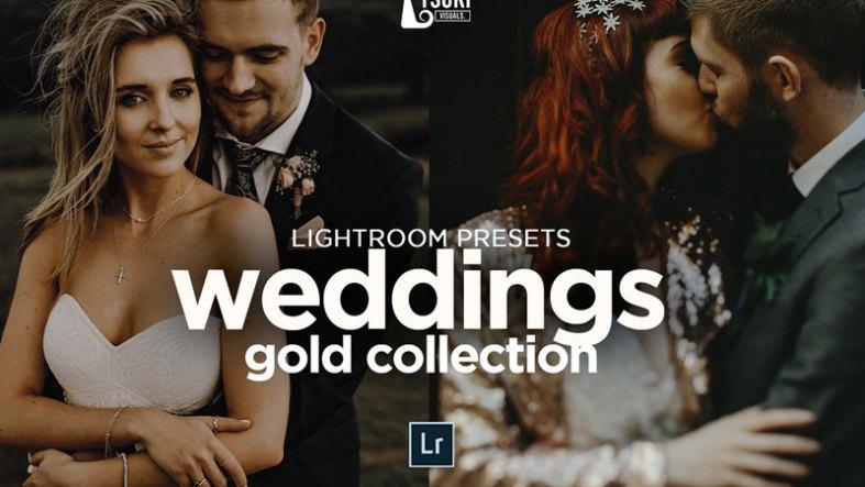 Wedding Gold Pack Lightroom Presets 4623262
