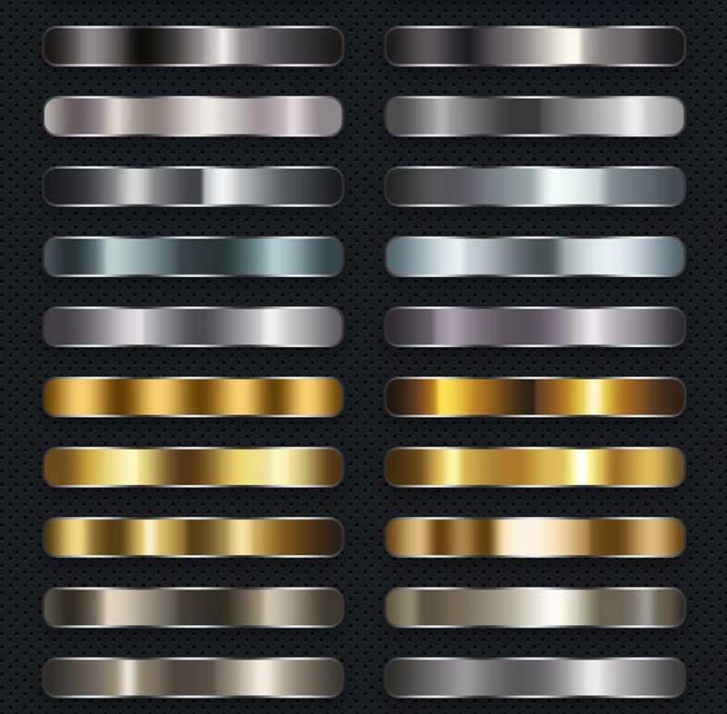 50 Metal Gradients 21617597