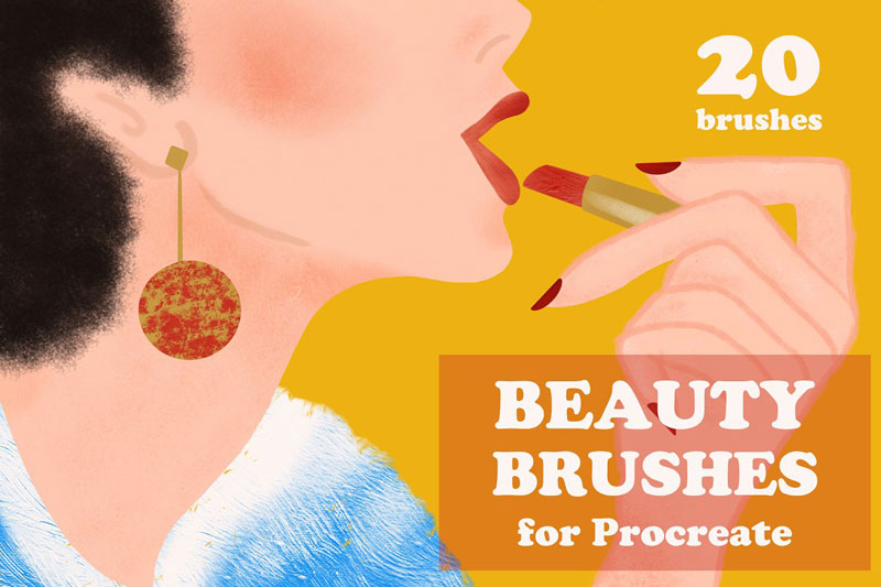 Beauty Brushes for Procreate 3821169