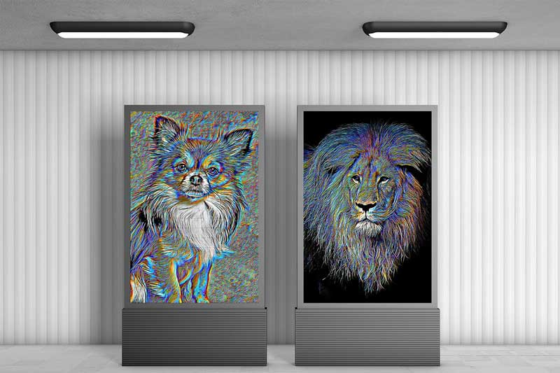 Colorful Paint Art Photoshop Action 4485687 psdly Download