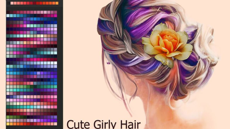 Cute Girly Hair Swatches 2874579 Free