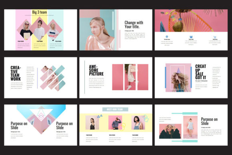 Fashion Morning - Powerpoint Template