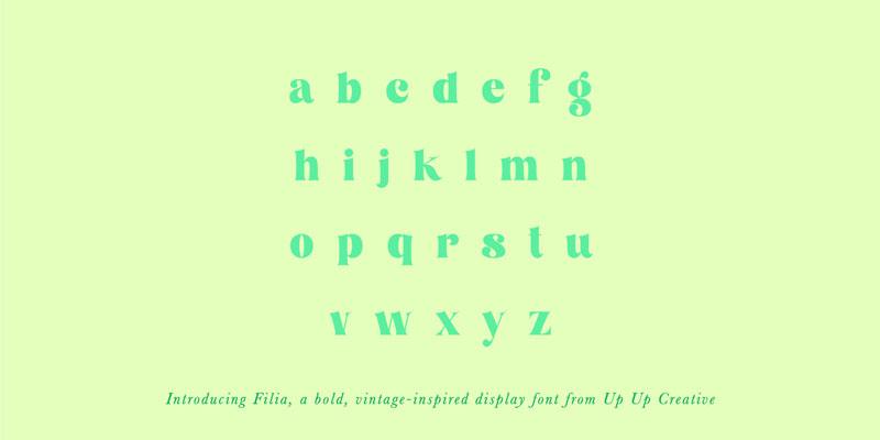 Filia Font Family