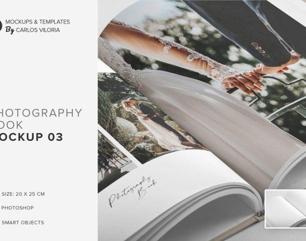 Hardcover Photo Book Mockup 03 4772212