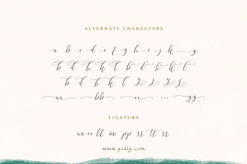 Hyldae Script Font 4190327