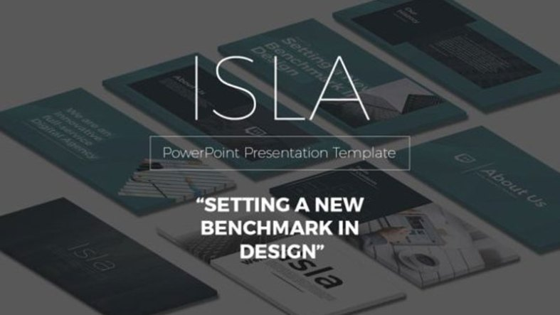 ISLA Creative PowerPoint Template