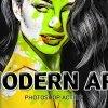 Modern Art Photoshop Action 26067958