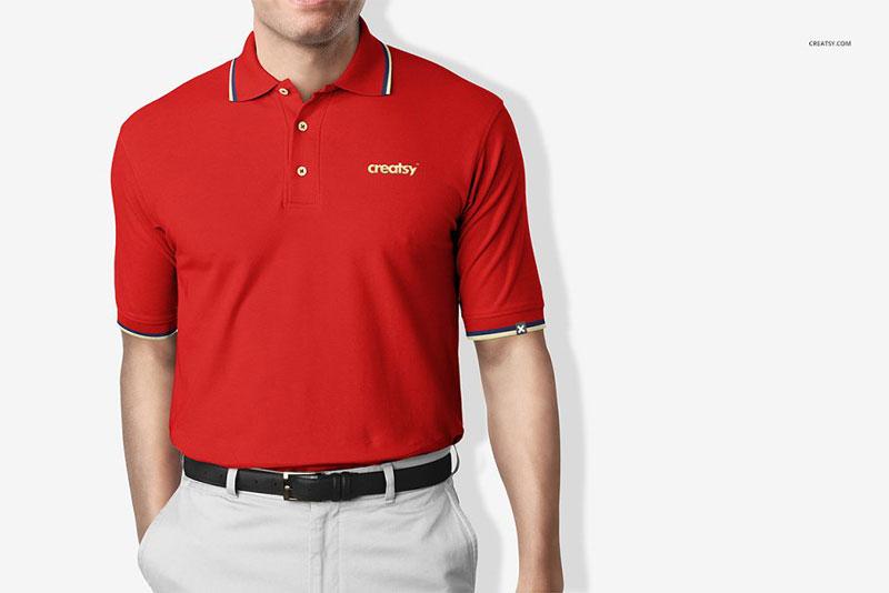 Polo Shirt Mockup 1446375