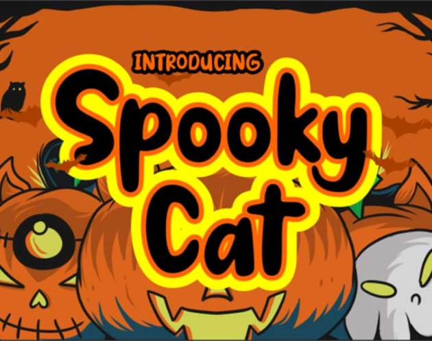 Spooky Cat Font Family