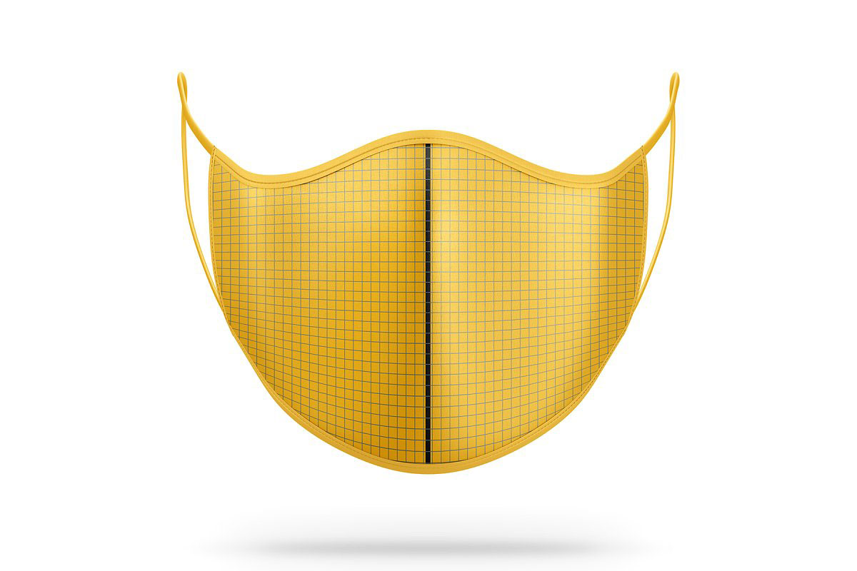 Anti Pollution Face Mask PSD Mockup 4872466