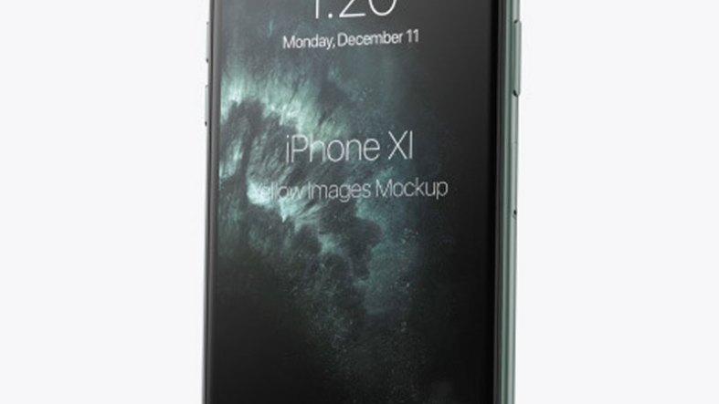 Apple iPhone 11 Pro Mockup 56930 Free