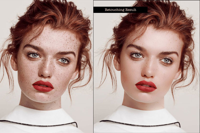 Beauty Skin Retouch PS Action 4745601