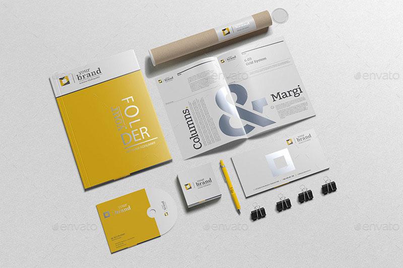 Branding-Stationery Mockups V3 9842897