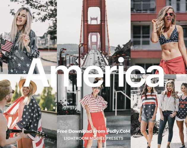 Lightroom Preset America Theme 4971817
