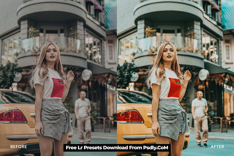 Lightroom Preset-Blogger City Theme 4971945