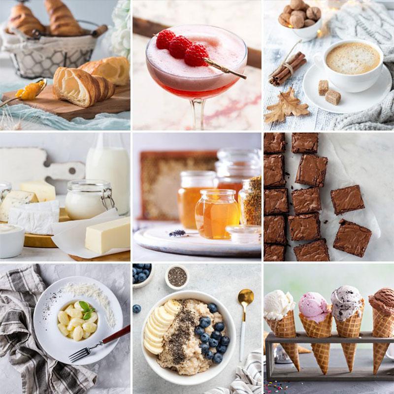 Minimal Food Lightroom Presets for Classic & Mobile