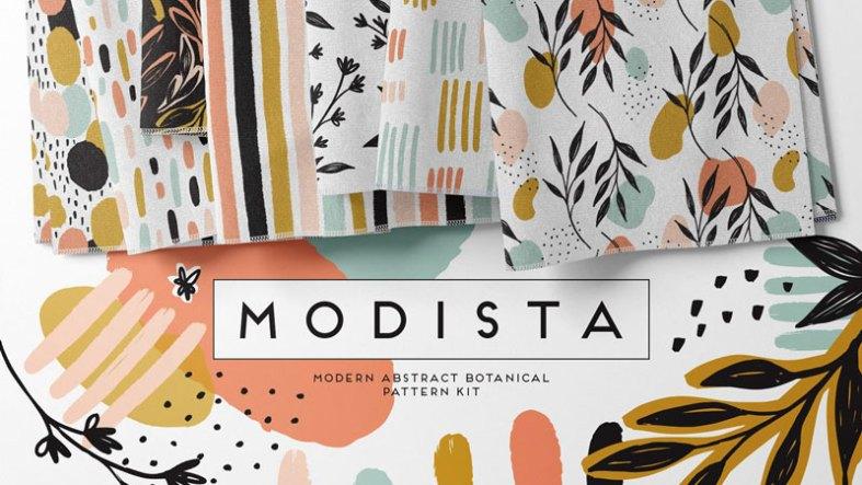 Modista Abstract Botanical Patterns 4574599