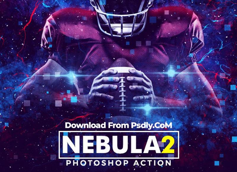 Nebula 2 Photoshop Action 26649945