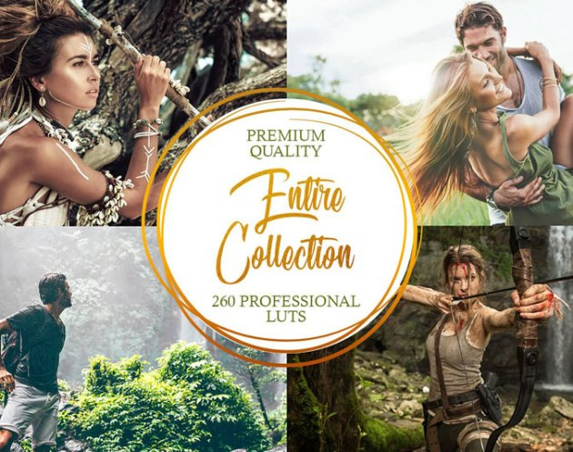 Professional LUTs Entire Collection 4909896