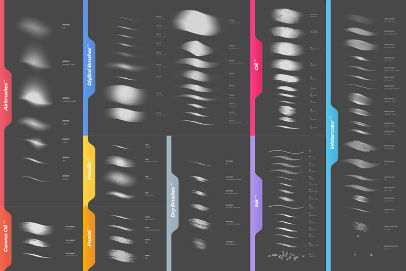 RM Perfectionist Photoshop Brushes 2590670