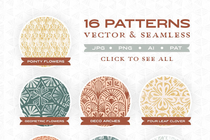 Textured Stamp Patterns 4615973