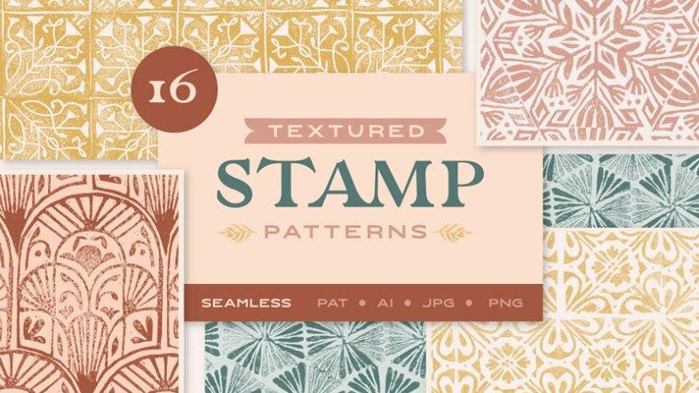 Textured Stamp Patterns 4615973