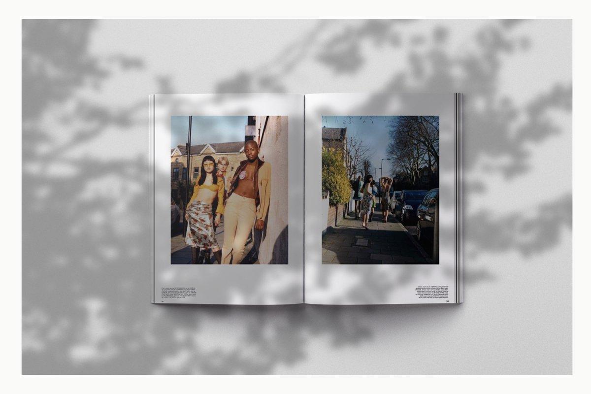 Magazine Spread Mockup 3739343