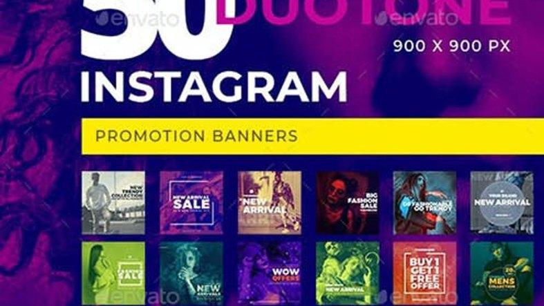 50 Duotone Instagram Banners 27549175