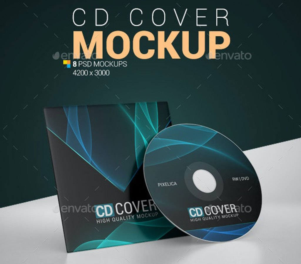 Download this free psd file about cover and compact disc mockup, and discover more than 16 million professional graphic resources on freepik Free Cd Cover Mockup 24721076 ʖ